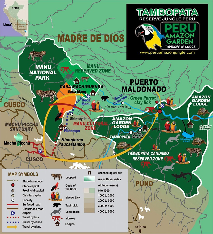amazon-garden-logo-map Manu Jungle Holiday 5D/4N (Expedition)