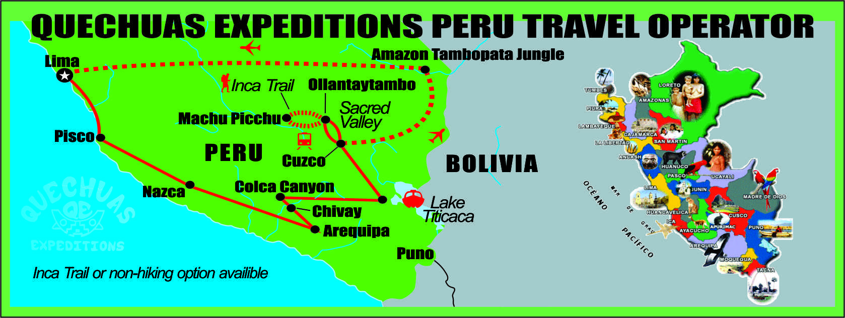 bbbbbbb Peru Overland Tour Package 20D/19N