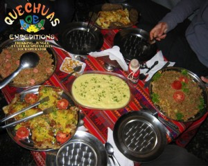 quechuas food