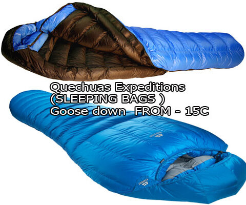 sleeping-bags-480x400 Inca Trail Camping Equipment