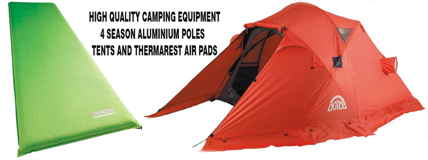 4 SEASON TENTS AND THERMAREST PAD QUECHUAS