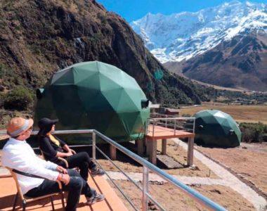 Salkantay Trek 4D/3N Sky Lodge Dome(Private Service)