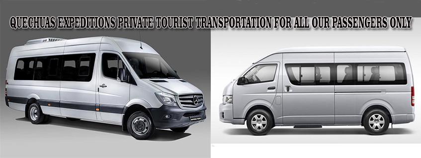 quechuas expeditions private transportation