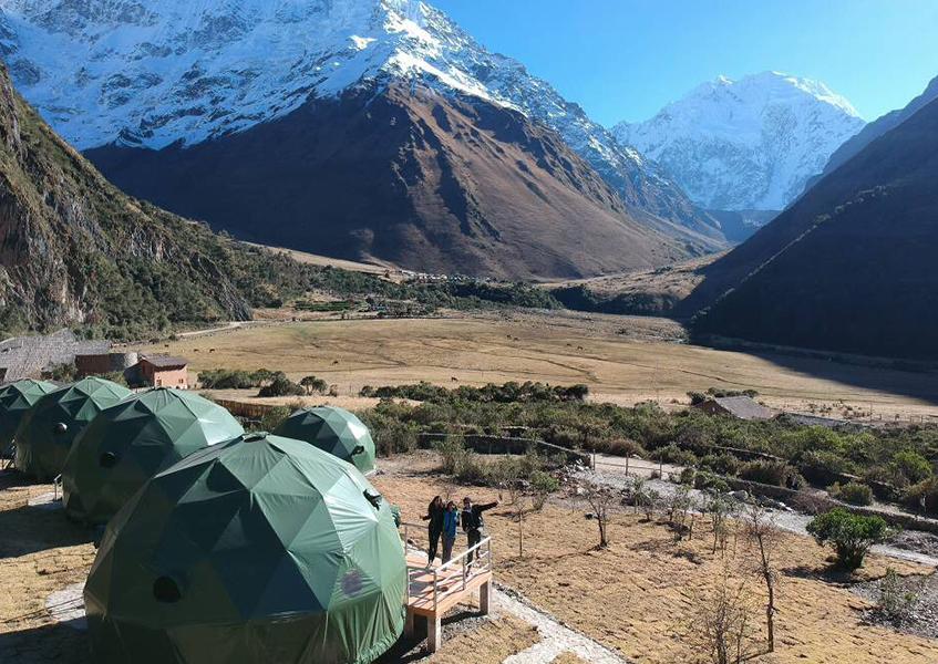 quechuas expeditions salkantay domes